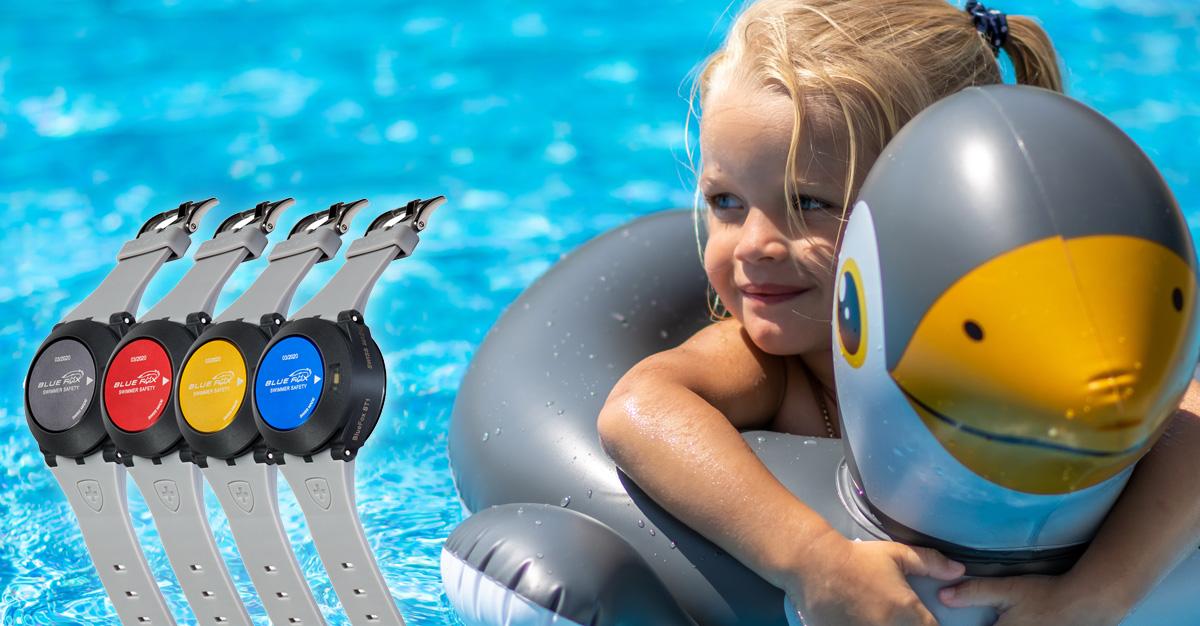 BlueFox ST1 Schwimmbadsicherheit